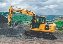 komatsu pc130 excavator construction u0026 mining equipment india