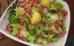 cuisiner le c eri recette salade chaude cagnarde de mon chéri économique