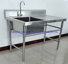 metal kitchen sink cabinet for sale stainless steel sink with cabinet restaurant industrial