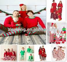 wholesale matching family pajamas pajamas family