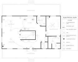 Electrical Floor Plan Symbols by Floor Plan With Electrical Layout Dwg Cottage Plans