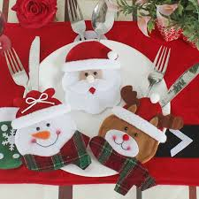 Christmas Decorations Online Wholesale by Wholesale 3pcs Christmas Table Decoration Knives And Forks Bags