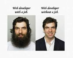 Before And After Meme - web developer before and after meme guy