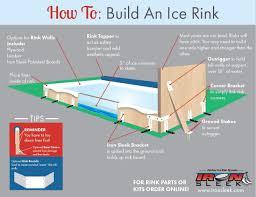backyard hockey rink kit home design