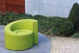 canap nautil fauteuil visiteur design original en tissu vert nautil by
