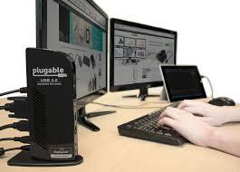 plugable usb 2 0 universal laptop docking station for windows