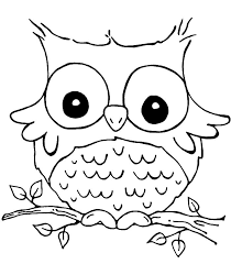 1000 Ideas About Owl Coloring Pages On Pinterest Colouring Easy Owl Coloring Ideas