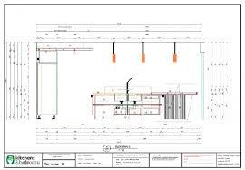 elevation c for scullery floor plan in innovative kitchen project