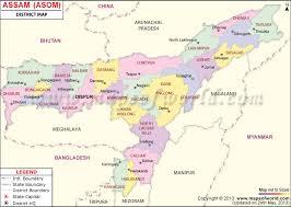 assam map assam district map