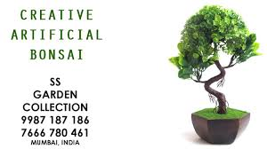 Fake Bushes Artificial Bonsai And Wild Plants For Interior Decoration In