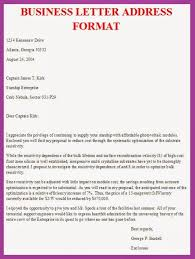 7 business letter format with blanksbusiness letter layout image