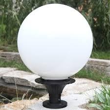 Outdoor Globe Light Outdoor Pedestal Globe Lights Outdoor Lighting
