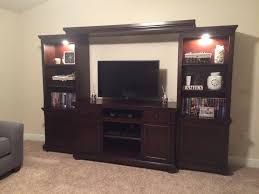 Ashley Porter Panel Bedroom Set by Porter Entertainment Wall Unit From Ashley W697 120 23 24 25
