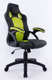 fauteuil de bureau vert fauteuil de bureau baquet siège de bureau baquet racing bicolors