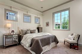 white walls in bedroom beautiful mirrored nightstand in bedroom traditional with wall and