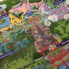 Disney World Parks Map Disney Treasure Hunter The Treasure Is The Map Disney Insider