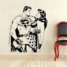 wall ideas batman and superman on the toilet comic book poster