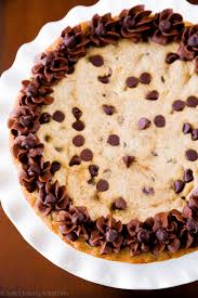 chocolate chip cookie cake sallys baking addiction