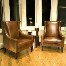 accent chairs for brown leather sofa brown leather accent chair ethan faux leather accent chair brown