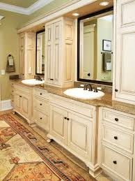 Bathroom With Bronze Fixtures Breathtaking Vanity For Master Bathroom With Antique White Painted