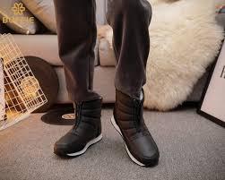 winter boots big yards short style snow boots warm fur waterproof
