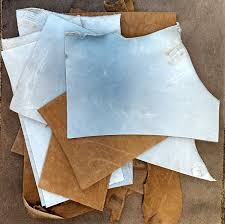 amazon com 2 lb assorted leather scraps great for crafts