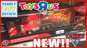 disney cars 3 toys mack u0026 lightning mcqueen buddy pack remote