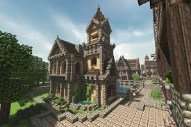 Small House Minecraft Build A Railway System On Minecraft Medieval House And