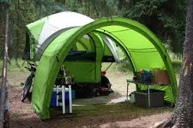 Awning For Tent Trailer Arch Awning U2013 Compact Camping Concepts