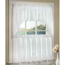 what kind of kitchen window valances