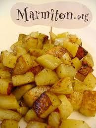 cuisiner des pommes pommes de terre sautées à l ail et au persil recette de pommes de