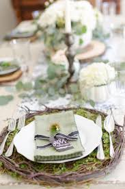 table setting pictures elegant black white and green farmhouse table setting for fall