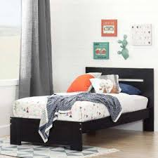 South Shore Twin Platform Bed Bed Frame Without Head Foot Board The Home Depot