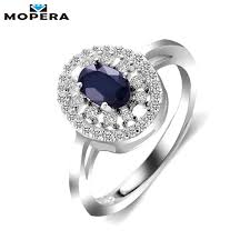 ring diana aliexpress buy mopera princess diana 0 8ct real