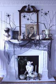 Mantel Fireplace Decorating Ideas - halloween decorating ideas fireplace mantel simplified bee