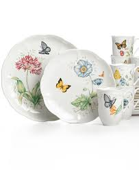 lenox dinnerware butterfly meadow sets dinnerware dining