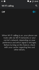 Tmobile Free Wifi How To Enable Wi Fi Calling Oneplus Forums