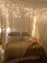 bed canopy with lights amazing canopies with string lights ideas bed canopy with lights