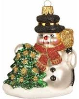 Mini Glass Christmas Tree Decorations by Get The Deal Fried Chicken Drumstick Polish Glass Christmas Tree