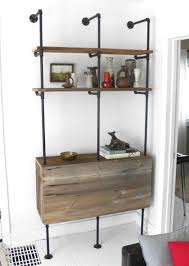 20 diy shelving ideas racks and wall shelves created with metal