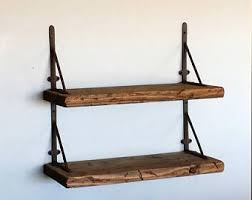 Barn Wood Floating Shelves by Deep Floating Shelf Etsy