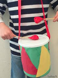 drummer boy christmas drum craft teach beside me
