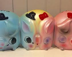 His And Hers Piggy Bank His And Hers Bank Etsy