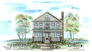 green street house plan house plans by garrell associates inc