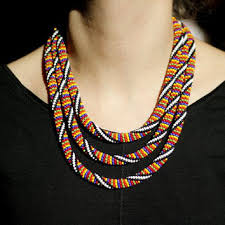 beaded necklace rope images Shop seed bead rope necklace on wanelo jpg