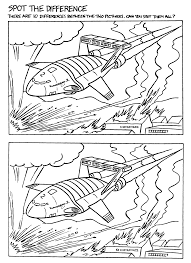 coloring pages spot thunderbirds coloring pages coloringpages1001