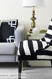 Best  Striped Chair Ideas On Pinterest Black And White Chair - Black and white chairs living room