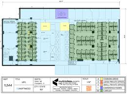 Floor Plan Office by Layout Of An Office With Cubicles Officelayout Office Layout