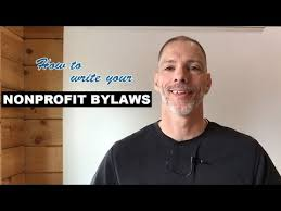 how to write your nonprofit bylaws nonprofit ally with sample