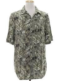 retro nineties shirt 90s covington mens light khaki green
